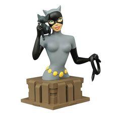 Batman: The Animated Series Catwoman Bust - Diamond Select - Batman - Busts at Entertainment Earth