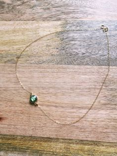 Dainty Gold Necklace  Dainty Necklace  by CatchingWildflowers