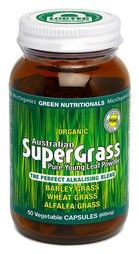 Organic Australian SuperGrass... The Perfect Alkalising blend ...