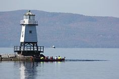 Lago Champlain, Faro, Lago, El Agua