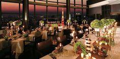 あなたの大切な人を感動させます!東京都内の「夜景×ディナー」レストラン10選 | RETRIP Dinner Sets, Food Dishes, Table Settings, Yummy Food, Table Decorations, Cooking, Furniture, Home Decor, Kitchen