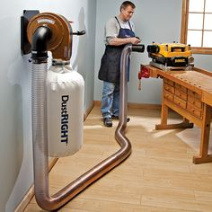 Rockler Dust Right® Wall Mount Dust Collector  Item #: 42400