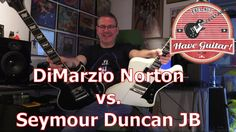 DiMarzio Norton vs Seymour Duncan JB - pickup shoot out!