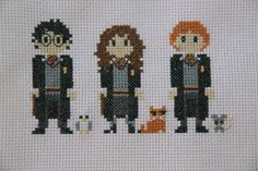 Harry Potter cross stitch pattern from etsy
