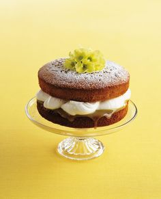 Good lemon curd gives this easy sponge cake recipe the edge. Bake it and enjoy for dessert or with an afternoon cuppa.