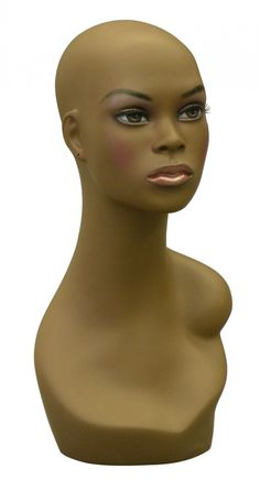 Great for displaying wigs, jewelry, etc! See it at www.mannequinmadness.com