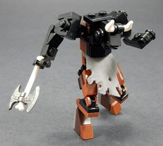 Love LEGO, love Greek mythology, love this. Lego Mecha, Legos, Lego Army, Lego Military, Lego Dinosaur, Lego Bots, Micro Lego, Lego Knights, Amazing Lego Creations