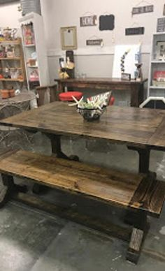 Farmhouse Tables - Into The Woods - Custom Farmhouse Tables | Into The Woods - Custom Farmhouse Tables Wooden Dining Table Designs, Wooden Dining Tables, Popular Woodworking, Diy Woodworking, Farmhouse Table For Sale, Rectangle Table, Diy Table, Benches, Woods