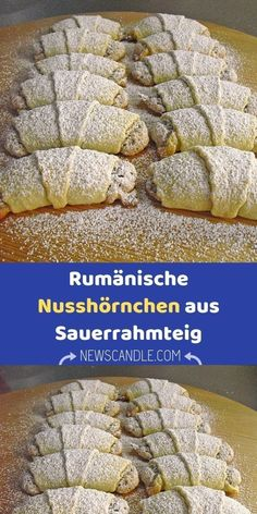 Ingredients 500 g flour 8 egg yolks 250 g butter 200 g sour cream For the filling: … - Cake Decorating Simple Ideen Chicken Diet Recipe, Chicken Recipes, Easy Cake Decorating, Powdered Sugar, Sour Cream, Mini Cupcakes, Vegan Recipes, Good Food, Food And Drink