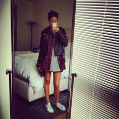 7d63c44c731d tmr in a stella mccartney dress, club monaco men s shirt, rebecca minkoff  jacket  amp