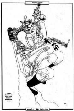 The Bristol Board: ungoliantschilde: Buck Rogers, by Frank Miller. Comic Book Artists, Comic Book Characters, Comic Books Art, Comic Art, Anton, Frank Miller Art, Bristol Board, Jack Kirby, Fun Comics