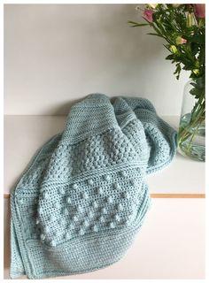 Droomdeken Colour Crafter – Crearies Crochet Stitches For Blankets, Afghan Crochet Patterns, Knitted Blankets, Knitting Patterns Free, Baby Knitting, Knitted Hats, Love Crochet, Knit Crochet, Manta Crochet
