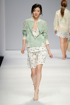 Irene Kim at S=YZ Spring 2015 Seoul Fashion Week