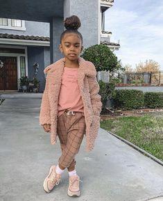 Cute Mixed Babies, Cute Black Babies, Beautiful Black Babies, Cute Babies, Cute Little Girls Outfits, Kids Outfits Girls, Toddler Outfits, Baby Outfits, Cute Kids Fashion