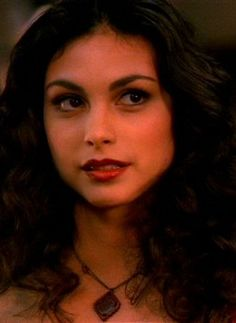 "Inara Serra (Firefly) She's even got that ""Keep talking, I'm figuring you out as we speak"" look on her face. Love it."