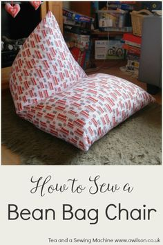Tutorial Easy Bean Bag Chair