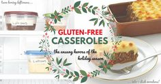 Do yourself a favor and check out these five #GlutenFree Casseroles made with just seven ingredients or less.  They're budget-friendly, easy-to-make, super-tasty and will help take a chunk out of your holiday stress.