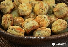 Hungarian Desserts, Scones, Baked Potato, Biscuits, Bakery, Muffin, Sweets, Potatoes, Snacks