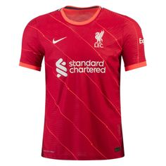 Liverpool 21/22 Home Match Jersey Personalized Name and Number – zorrojersey Liverpool Soccer, Liverpool Players, Liverpool Home, Soccer Equipment, Premier League, 21st, Names, Lettering, Mens Tops