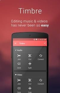 It allows you to edit, cut, join and convert your media files.
