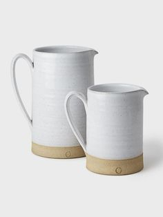 Silo Stoneware Pitcher by Farmhouse Pottery | DARA Artisans