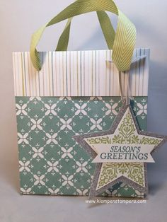 Klompen Stampers (Stampin' Up! Demonstrator Jackie Bolhuis): Make Your Own Gift Bags