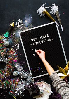 41 New Year's Resolutions To Make For 2017