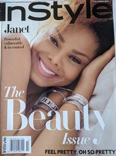 Instyle Magazine, Jo Jackson, Michael Jackson, Jackson Family, Janet Jackson Unbreakable, John Hardy Bracelet, Fashion Magazine Cover, Magazine Covers, Fashion Leaders