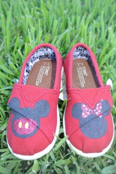 Our next set of shoes may have to be similar! Disney Baby Toms.