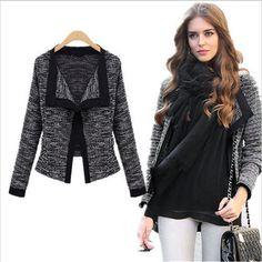 Fashion Women Long Sleeve Loose Cardigan Knitting Jacket Outerwear Winter Coat  #Unbranded #BasicJacket