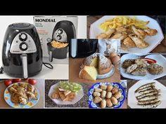 7 recetas sin aceite en freidora AIR MONDIAL fáciles y deliciosas - YouTube Actifry, Air Fryer Recipes, The Creator, Good Food, Cheese, Breakfast, Gastronomia, Home, Tasty Food Recipes