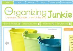7 Best Home #Organization Blogs ... → #Lifestyle [ more at http://lifestyle.allwomenstalk.com ]  #Organizational #Unclutterer #Projects #Diva #Finances