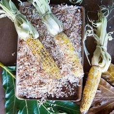 This supereasy grilled corn with shredded coconut and Jamaican flavors has just two steps. Learn how to make it at Food & Wine. Corn Recipes, Coconut Recipes, Wine Recipes, Christmas Dinner Side Dishes, Grilled Corn Salad, Summer Grilling Recipes, Summer Recipes, Watercress Salad, Grilled Vegetables