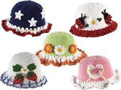 Picture of T-Shirt Dress Hat Set Crochet Pattern