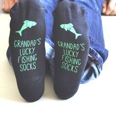 Personalised Lucky Fishing Socks
