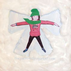 Here's one way to make a snow angel without getting cold. Kid's love making snow angels and will absolutely love making this wonderful winter craft. Ornament Crafts, Angel Ornaments, Christmas Ornaments, Winter Crafts For Kids, Winter Fun, Poinsettia Flower, Angel Crafts, How To Make Snow, Build A Snowman