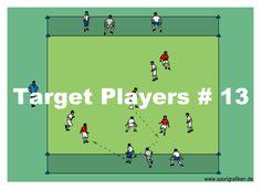 U6 Soccer Drills, Soccer Drills For Kids, Soccer Training Drills, Soccer Practice, Soccer Skills, Soccer Coaching, Soccer Gifs, Top Soccer, Group Games