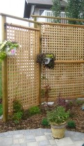 Exterior, Superb Patio Privacy Screen Lattice: Alluring Apartment Patio  Privacy Screen Ideas