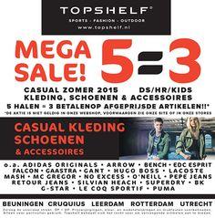 Nu Super Summer Sale bij Topshelf! 5 artikelen halen, maar 3 betalen. Je betaalt zelfs de 3 afgeprijsde prijzen!