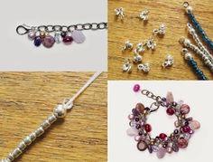 Online Jewelry Making Newsletter: DIY Jewelry: Beaded Chain Bracelet