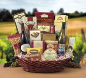 Wild Thing Basket - Amazing gift baskets for wine lovers!