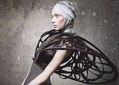 New fashion design art avant garde Ideas 3d Fashion, Couture Fashion, Editorial Fashion, Trendy Fashion, High Fashion, Steam Punk, Sculptural Fashion, Festivals, Costume Design