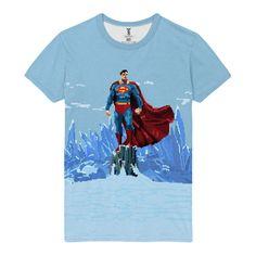 awesome T-shirt Pixel art Superman DC Kal-El Universe Comics Arts Merch Loot 3a173c70d7