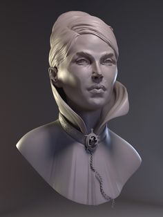 """""""Is this some kind of bust?"""" - my zbrush works - Page 9"""
