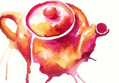 Teapot splash by Little Doodles/Kate via Flickr