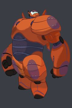 A unblurried version of a early painting I did of Baymax which the color was later retouched by Lorelay Bove.. from a article:  http://www.awn.com/animationworld/conceptualizing-disneys-big-hero-6
