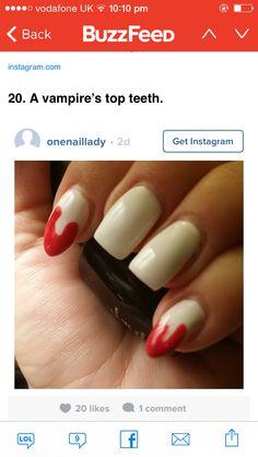 Vampire teeth nails pinterest vampire teeth happy nails pinterest vampire teeth happy nails and makeup prinsesfo Choice Image