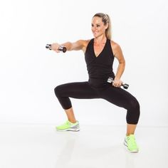 Sculpt your lower half and arms with the plié punch!