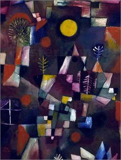 Paul Klee - Der Vollmond. 1919.