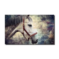 Ready2HangArt 'Equestrian Saddle Ink PSXIV' Canvas Wall Art